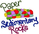 Paper Sedimentary Rock Lab Activity & Lesson Plan