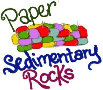 Paper Sedimentary Rock Lab Activity & Lesson Plan