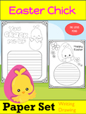 Paper Set : Easter Chicks : Primary Lines