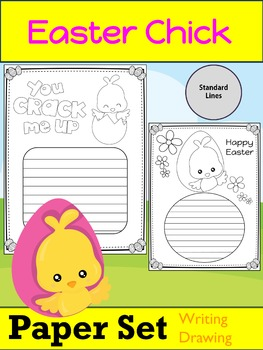 Paper Set : Easter Chicks : Standard Lines