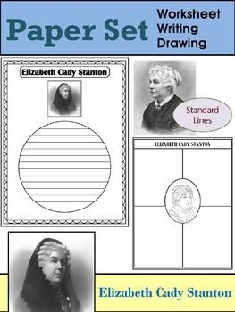 Paper Set : Elizabeth Cady Stanton