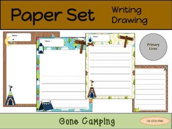 Paper Set : Gone Camping