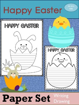 Paper Set : Happy Easter