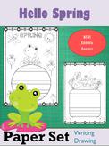 Paper Set : Hello Spring : Standard Lines