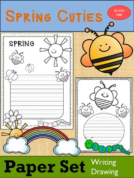 Paper Set : Spring Cuties