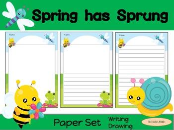Paper Set : Spring has Sprung : Standard Lines