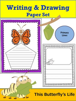 Paper Set : This Butterfly's Life