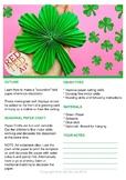 Paper Shamrock Craft - St Patrick's Day Activity & Classro