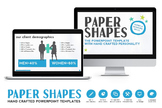 Paper Shapes Powerpoint Presentation
