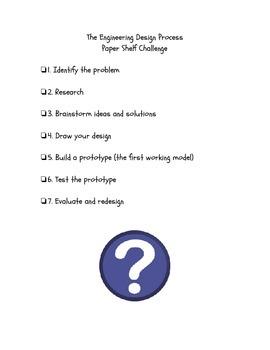 Paper Shelf STEM Challenge
