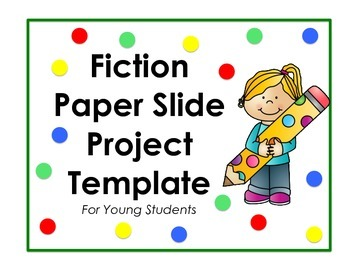 Paper Slide Presentation Template for Young Students