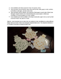 Paper Snowflake Snowman Art Activity