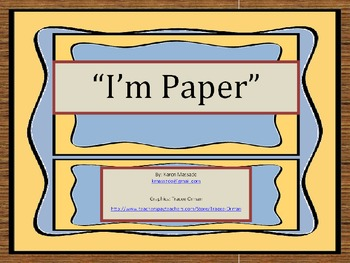 Paper Song - Recycle Me or Use Me Up