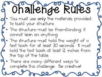 Paper Structures: Engineering Challenge Project ~ Great STEM Activity!