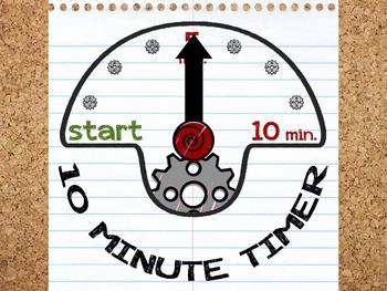 Paper Timer - 10 Minutes