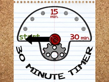 Paper Timer - 30 Minutes