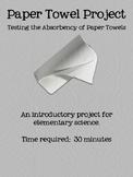 Paper Towel Absorbency Project
