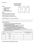 Paper Towel Absorbency Scientific Method Lab