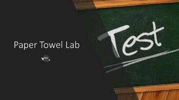 Paper Towel Digital Lab with Google Apps