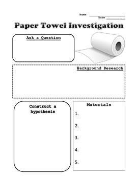 Paper Towel Investigation