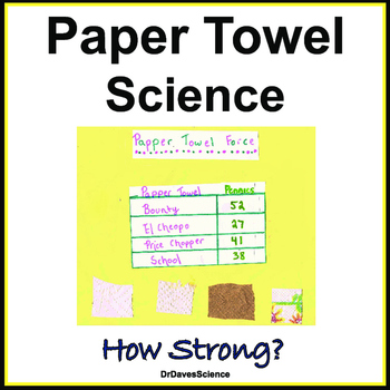 Paper Towel Science BUNDLE