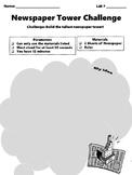 Paper Tower Challenge