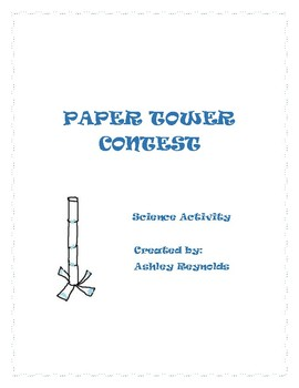 Paper Tower Contest