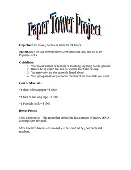 Paper Tower Project