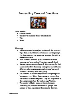 Carousel activity for: Paper Towns by John Green