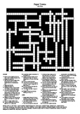 Paper Towns by John Green - Crossword Puzzle