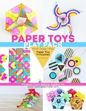 Paper Toys Play Pack- Printables