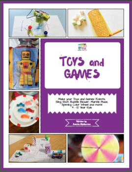 Paper Toys and Games: Activity Pack with Toys& Games Building Projects: 4-10