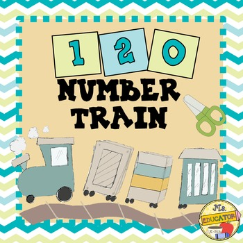 120 Paper Train Activity