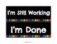 Paper Tray Signs (Black&Rainbow)