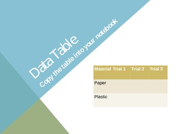 Paper V. Plastic Lab: Intro to Prediction and Variables