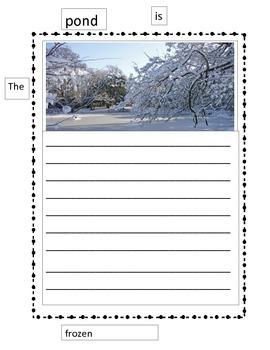 Paper Wall Winter Sentences