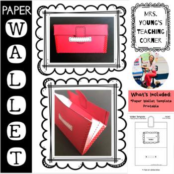 Printable Paper Wallet Template