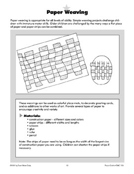 Paper Weaving and Paper Lace