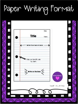 Paper Writing Guide Poster