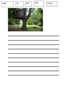 Paper Writing Wall With Tree Theme