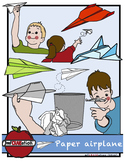 Paper airplane Cliparts
