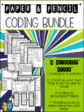 Technology Coding - Map Skill -  Activity Bundle