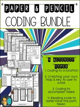 Technology Coding - Map Skill -  Activity Bundle