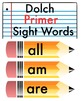 Paper and Pencil Themed Word Wall