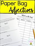 Paper bag adjective activity