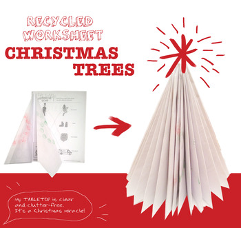 Paper-folding Christmas Tree craft card