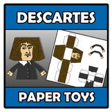 Paper toys - Descartes