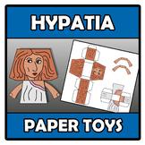 Paper toys - Hypatia
