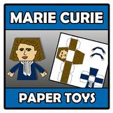 Paper toys - Marie Curie
