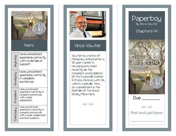 Paperboy Comprehension Brochures